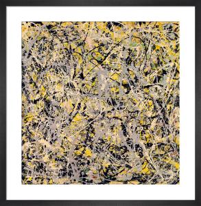 No. 4, 1949 by Jackson Pollock