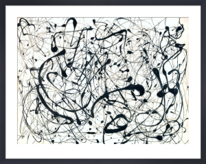 Number 14: Gray by Jackson Pollock
