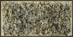 One, Number 31 by Jackson Pollock