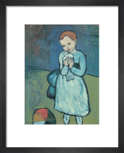 Child with a Dove, 1901 by Pablo Picasso