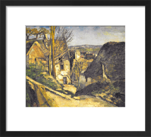The house of the hanged man in Auves by Paul Cezanne