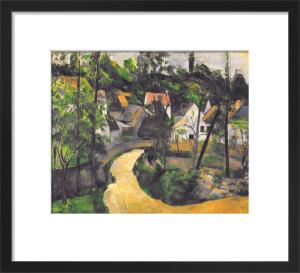 Turn in the Road, c.1881 by Paul Cezanne