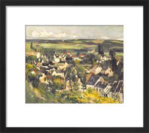 Auvers, Panoramic View, 1875 by Paul Cezanne