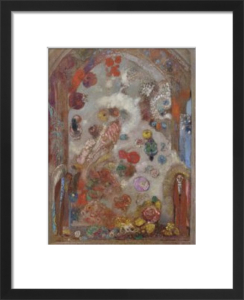 The Window, c. 1907 by Odilon Redon
