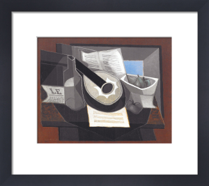 Still Life with a Guitar, 1925 by Juan Gris