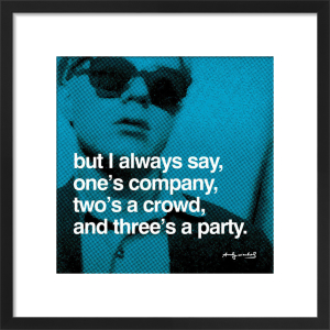 Three's a Party by Andy Warhol