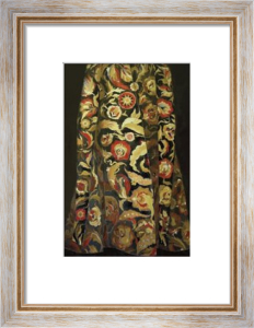 Goldflower Kaftan Poster by Richard Nott