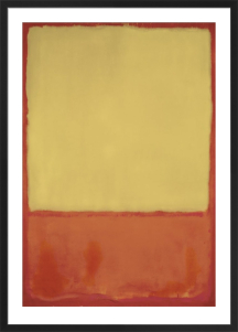 The Ochre (Ochre, Red on Red), 1954 by Mark Rothko