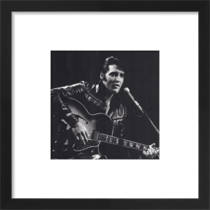 Elvis, 1968 (small) by Celebrity Image