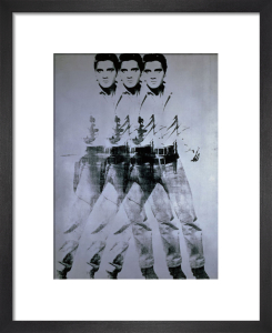 Elvis, 1963 (triple Elvis) by Andy Warhol