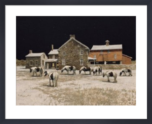 Gypsies at Night by Peter Sculthorpe