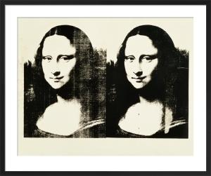 Double Mona Lisa, 1963 by Andy Warhol