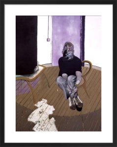 Self Portrait Seated 1973 by Francis Bacon