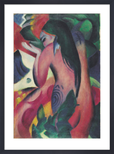 Red Woman by Franz Marc