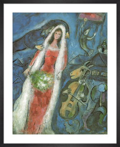 The Bride by Marc Chagall