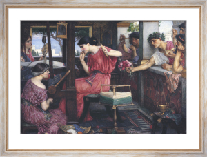 Penelope and Her Suitors by John William Waterhouse