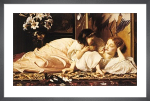 Mother and Child by Lord Frederic Leighton
