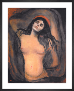 Madonna by Edvard Munch