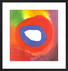 Colour Studie (1) by Wassily Kandinsky