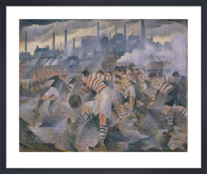 Any Wintry Afternoon in England by Christopher Richard Wynne Nevinson