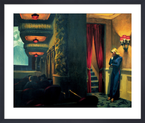 New York Movie by Edward Hopper