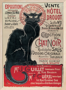 Collection du Chat Noir (large) by Theophile-Alexandre Steinlen
