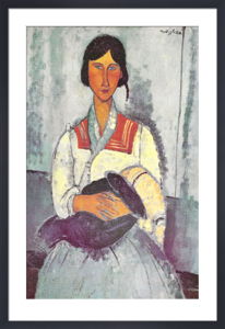 Gypsy Woman with Baby by Amedeo Modigliani
