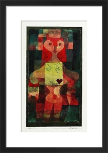 Herzdame (1922) by Paul Klee