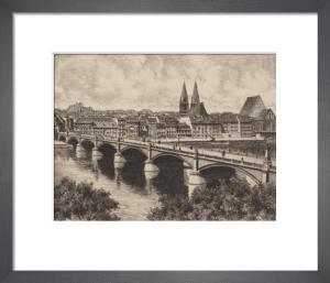 Frankfurt, Gesamtansicht by Bruck