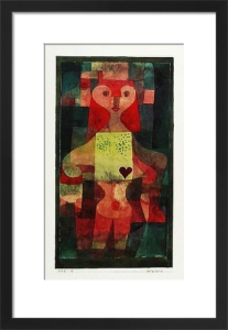 Herzdame (1922) by Paul Klee