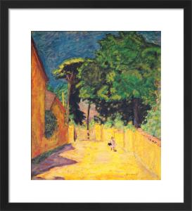 Lane at Vernonmet by Pierre Bonnard