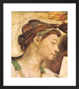 Portrait: Erythrean Sibyl by Michelangelo