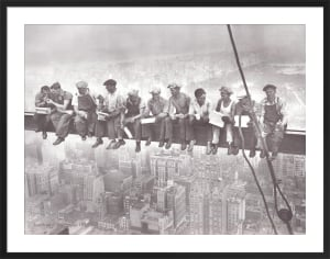 Lunch on a Skyscraper, 1932 by Charles C. Ebbets