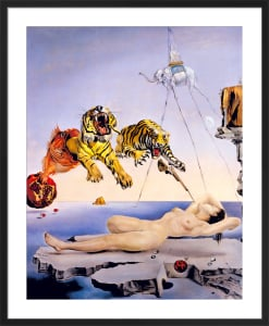 Dream Caused by a Bee Flight (Large) by Salvador Dali