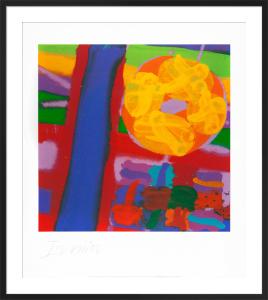 Battersea I, 2001 (signed silkscreen) by Albert Irvin