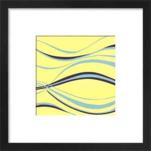 Aqua Samphire (giclee) by Denise Duplock