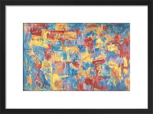 Map by Jasper Johns