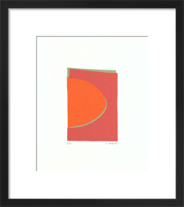 One (serigraph) by Denise Duplock