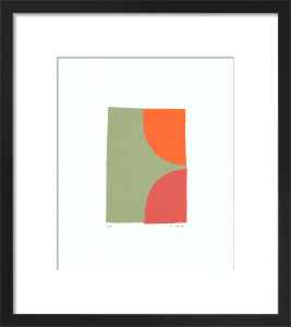 Two (serigraph) by Denise Duplock