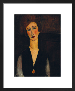 Portrait of a Woman, c.1917-1918 by Amedeo Modigliani