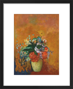 Vase of Flowers, c.1905 by Odilon Redon