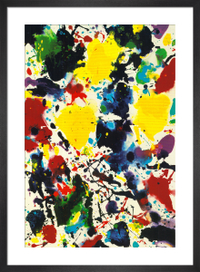 Untitled, 1980 by Sam Francis