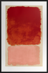 Untitled (Red over Pink), 1968 by Mark Rothko