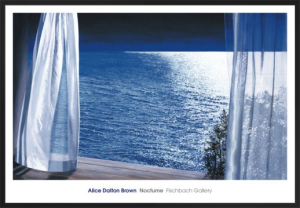 Nocturne by Alice Dalton Brown