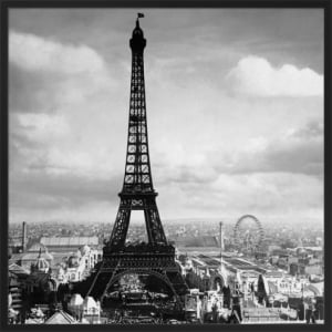 The Eiffel Tower, Paris France, 1897 by Jerry Tavin