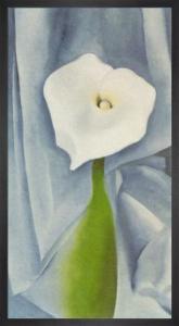 Calla Lily on Grey, 1928 by Georgia O'Keeffe