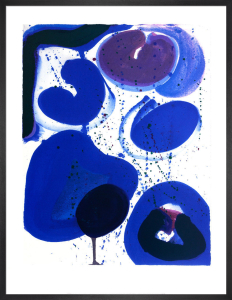 Blue Balls, 1961 by Sam Francis