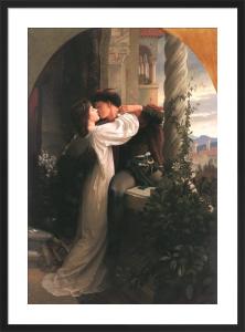 Romeo & Juliet by Sir Frank Dicksee