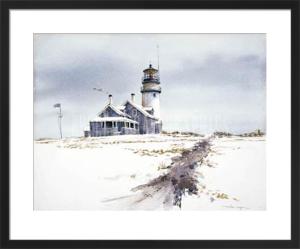 Cape Cod Lighthouse by William Mangum