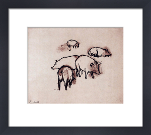 Pigs by Pablo Picasso
